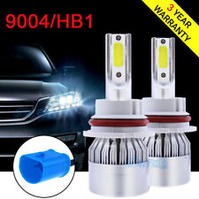 Super Bright 120W 9004 HB1 LED Headlight Bulbs High Low Beam Lamp Convertion Kit