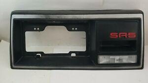 1987 1988 Toyota Tercel Wagon SR5 Rear Hatch Trim 87 88 Tailgate Panel Door