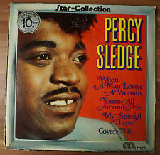 "12"" LP Vinyl Various ‎– Percy Sledge Star-collection MID 20019"