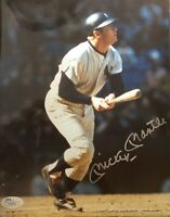 Mickey Mantle NY Yankees Autographed 8x10 Pic with Full JSA Letter Certificate!