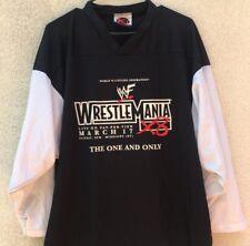 Wrestlemania X8 WWF Wrestling Federation Black White Shirt RARE 2002 - Large