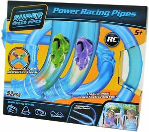 Right Goods Right Price SHATCHI 52pcs Power Racing Pipes Remote Controlled RC Ra