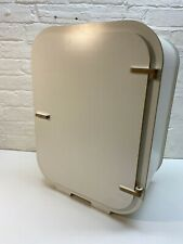 Plywood & White Craft Sewing Hobby Storage Bedside Wall Bathroom Cabinet Scandi