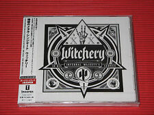 WITCHERY In His Infernal Majesty's Service with Bonus Tracks JAPAN CD