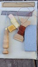 S2 KIT a mano per guardolo punteruolo per cucire suole in cuoio guardolo tessuto calzolai Tools