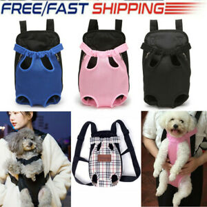 Pet Carrier Dog Cat Puppy Front/Back Backpack Shoulder Carry Sling Pouch Bag AU