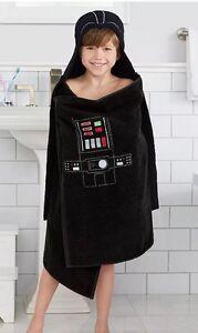 Disney's Star Wars Darth Vader Black Hooded Bath Wrap