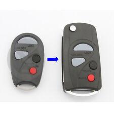 Flip Key Fob For Nissan Sentra Maxima Infiniti I30 G20 Keyless Entry Remote Case