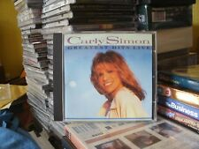 Carly Simon - Greatest Hits Live (Live Recording, 1995) CD