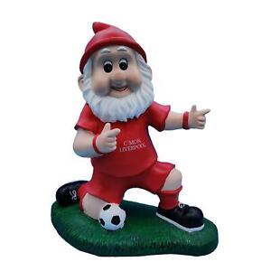 Liverpool Football Fan Celebration Garden Gnome