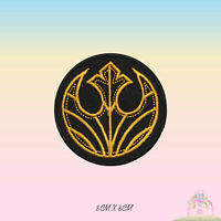 Star Wars Rebel Alliance Super Hero Movie Embroidered Iron On Sew On Patch Badge