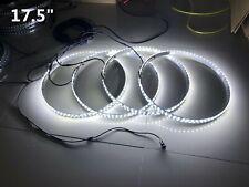 "fiacarlighting 17.5""Warm WHITE Single row LED Wheel Rings Lights Switch Ctrl Set"