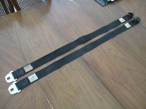 68 69 70 71 CHEVELLE GTO 442 GS DELUXE Shoulder BELTS BLACK 1970 1971 1969 1968