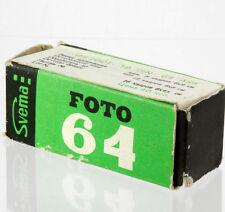 SVEMA FILM Foto-64 Black & white b&w 120 Moskva-2,4,5 Kiev Lubitel camera USSR