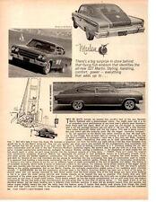 1965 AMC MARLIN 327/270-HP  ~  ORIGINAL 5-PAGE ROAD TEST / ARTICLE / AD