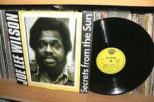 JOE LEE WILSON QUINTET - SECRETS FROM THE SUN - ORIGINAL LP FR SUN SR 113 - 1977