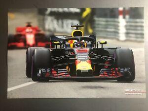 2019 Daniel Riccardo Aston Martin Red Bull F1 Print Picture Poster RARE L@@K