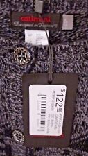 NWT $122 CATIMINI FRANCE CARDIGAN SWEATER BLACK GREY COLOR GIRLS  SIZE 6T 5 T
