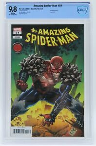 Amazing Spider-Man (2018) #54 Knullified Variant CBCS 9.8 Blue Label White Pages