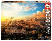 Acropolis de Atenas puzzle 1000 piezas Educa 18489