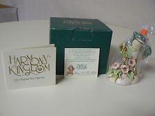 Harmony Kingdom CAW OF THE WILD Blue Jay Bird Flowers TJBB Treasure Jest Retired