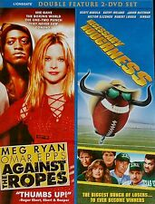 Double Feature Against the Ropes/ Necessary Roughness Meg Ryan NEW DVD
