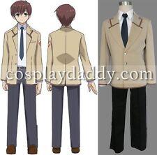 Angel Beats! SSS School Boy Uniform Japanese Anime Cosplay costume