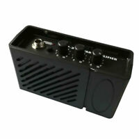 """Mini Portable Over Drive 2W Electric Guitar Amp Amplifier 2"""" Speaker Plug-n-Play"""