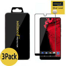 [3-Pack] SOINEED Essential Phone PH-1 FULL COVER Tempered Glass Screen Protector