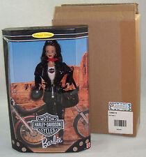 Harley Davidson Barbie Doll #3 Black Leather Jacket 1998 Mint & Shipper Nrfb