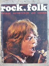 ROCK AND FOLK N°46 MICK JAGGER AME SON ALICE JETHRO TULL RAY CHARLES STONES BST