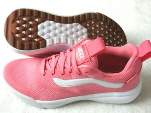 Vans Ultrarange Rapidweld Womens Running Trail Shoes Strawberry Pink White NWT