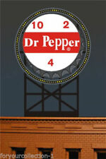 Miller's Dr. Pepper Animated Neon Sign O/HO Scale Miller Engineering #2681