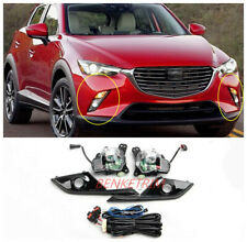 For Mazda CX-3 CX3 16-19 LED daytime running light turn signal Front fog lights