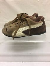 Puma Toddler Brown Suede Shoes Sz 9 Kids Baby Casual Soft