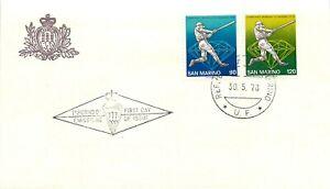 San Marino, FDC - Campionati mondiali di baseball, 30/05/1978