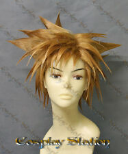 Kingdom Hearts 3 Sora Custom Made Cosplay Wig_commission987