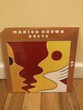 "Marion Brown  ""Duets""  (Arista-Freedom 1904) - SEALED VINYL"
