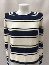 Tommy Hilfiger Mujer suéter Jumper norisa Crema/Azul L