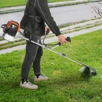 STRAIGHT SHAFT GAS STRING TRIMMER 42.7 cc 2-Stroke Cycle Weed Eater Wacker