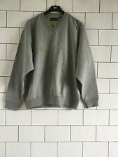 VINTAGE RETRO GREY REEBOK ATHLETIC SWEATSHIRT SWEATER OVERHEAD MENS MEDIUM