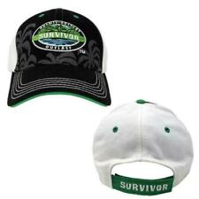 CBS Black SURVIVOR Baseball CAP BUFF Logo JEFF PROBST BNWT Australian