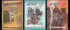 Kirgizië / Kyrgizistan - Postfris / MNH - Complete set 1170 years Kaganet 2013