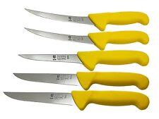 SMI - 5 Stück Metzgermesser Set Solingen Fleischmesser Ausbeinmesser Kochmesser