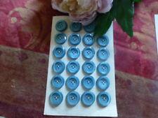 neufs,12 jolis boutons bleu   émeraudes 20mm,tailleur,veste ,pull tricoté,gilet