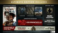 Call of Duty Black Ops Cold War ULTIMATE EDITION | PC battle.net |