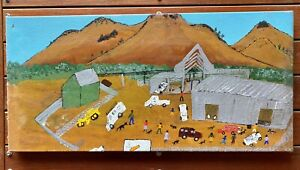 Sonia Williams Aboriginal Painting for Martumili Artists Western Australia