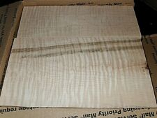 4/4 LARGE FLAT RATE BOX HEAVY FIGURE CURLY MAPLE  lumber 11