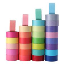 30x Writable Washi Tape Masking Tape Scrapbook Decorative Paper Adhesive Sticker