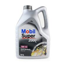 5L HUILE MOTEUR MOBIL SUPER 2000 X1 10W-40 10W40 ACEA A3/B3 - API SL VW 501 01